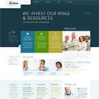 Investors Responsive Wordpress Blog