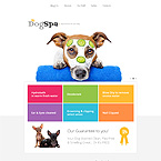 Dog Spa Web Template