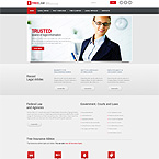 Consulting Corporate Website Template
