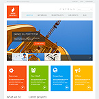 Construction Company Wordpress Site