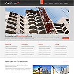 Construction Engineering Wordpress Template