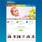 Babysitter Site Template