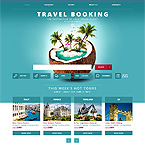 Travel Booking Template For Website