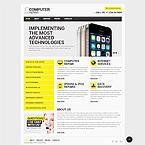Computer Repair Website Template
