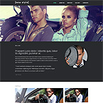 Style Models Web Template