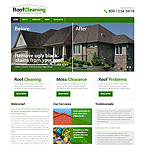 Roof Cleaning Web Template