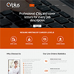 Resume Writing Website Template