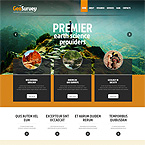 Geo Survey Science Web Template