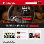 Winery Joomla Web Template