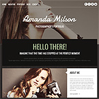 Digital Photo Portfolio Wordpress Site