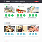 Deals Website Template