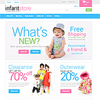 Baby Store Theme For Prestashop