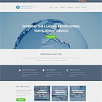 Translation Services Web Site Template