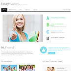 Essay Writing Service Web Template