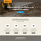 Construction Industry Website Template