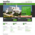 Real Estate  Property Site Template