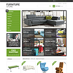 Furniture Store Prestashop Template