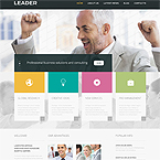Leader Finance Site Template