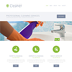 Cleaner Company Wordpress Theme