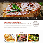 Steakhouse Html Website Template