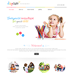 Daycare center Wordpress Theme