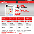 GPS Tracking Systems Web Template