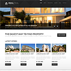 Real Estate Joomla Web Template