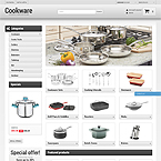 Kitchenware Theme For Prestashop