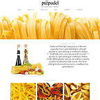 Pasta and Ravioli Joomla Template
