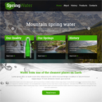 Health Water Website Template