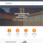 Architecture Company Website Template