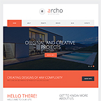 Responsive Architecture Website Template