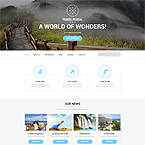 Travel Portal Web Template