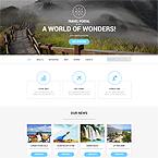 Travel Portal Web Template
