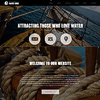 Yachting Sport Joomla Template