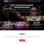 Night Club Joomla Template