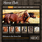 Club Animals Wordpress Template