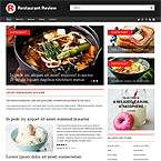 Review Web Site Template