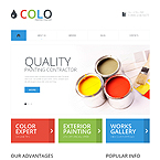 Brushes Color Html Template