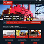 Marine Industrial Web Template