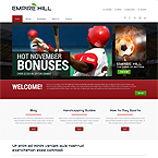Empire Hill Sport Web Template