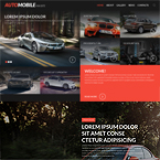 Automobile Fan Site Template