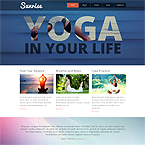 Yoga Sport Website Template