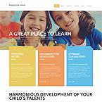 Elementary School Website Template