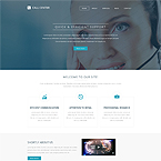 Telephone Business Center Web Site Template