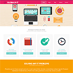 Globalix IT Systems Template For Website