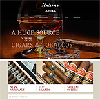 Arisone Tobacco Wordpress Theme