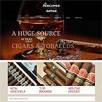 Arisone Tobacco Wordpress Theme