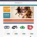Mask Entertainment Magento Template