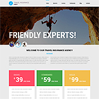 Travel Insurance Joomla Template